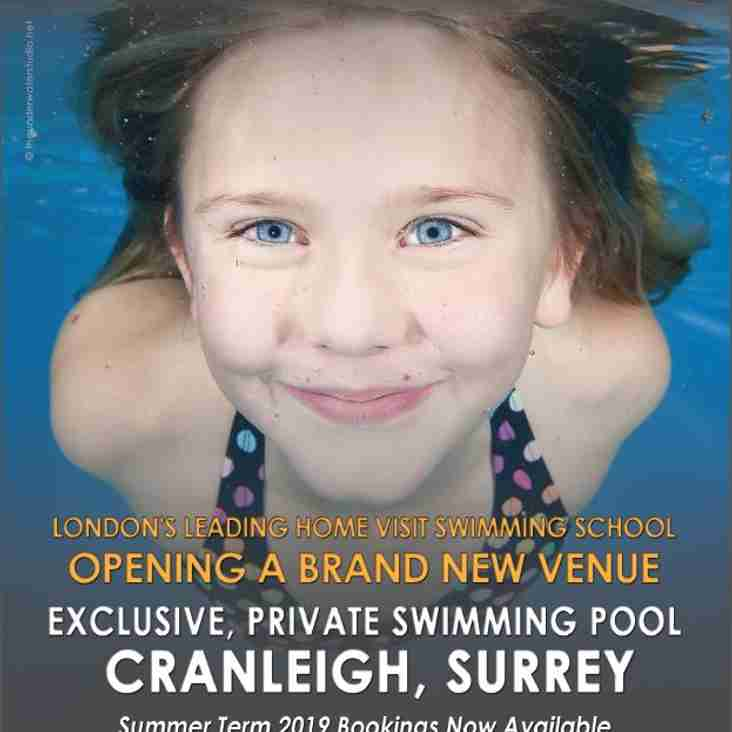 SwimWay is coming to Cranleigh!