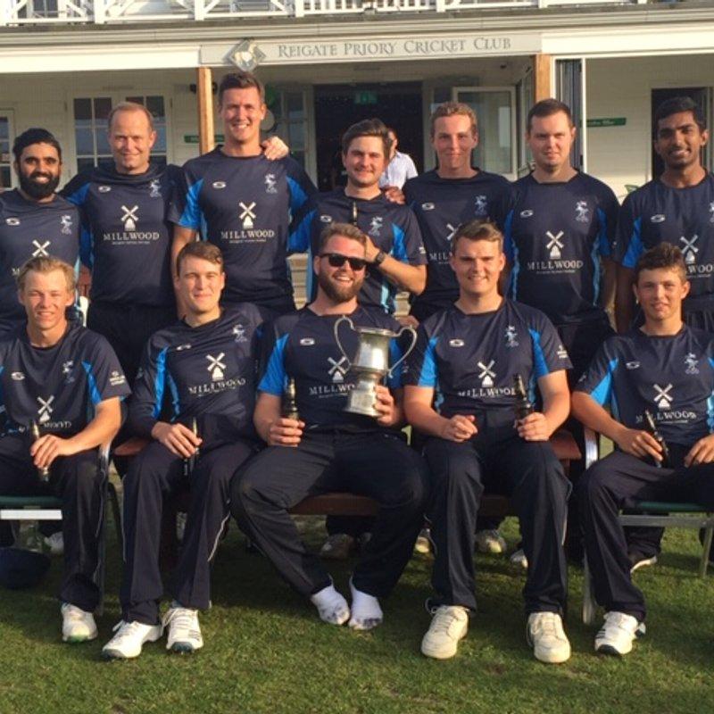 Congratulations 1st XI - T20 Surrey Champions 2019
