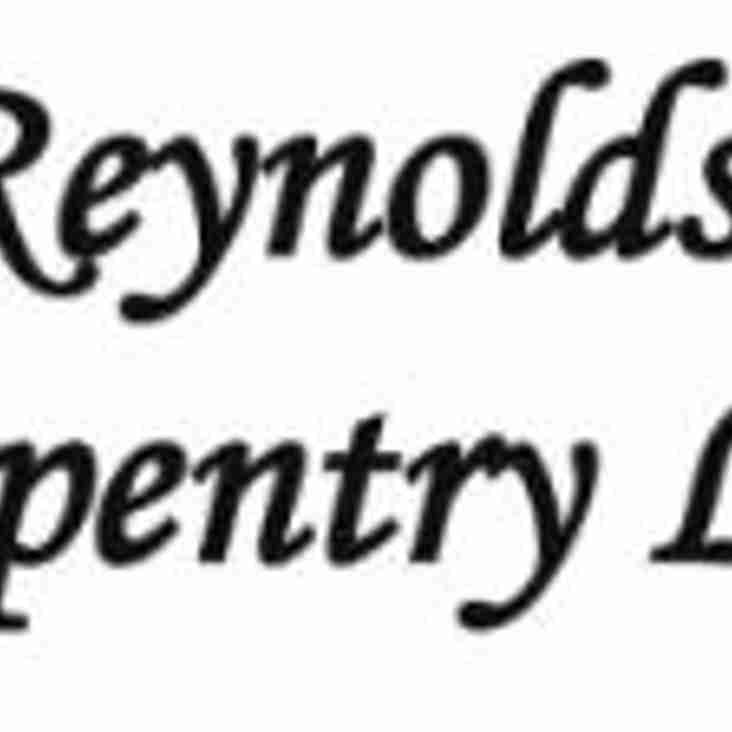 Under 10's Sponsor Reynolds Carpentry