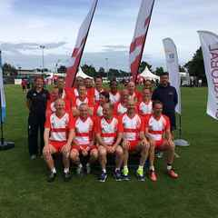 Enland 45 touch rugby