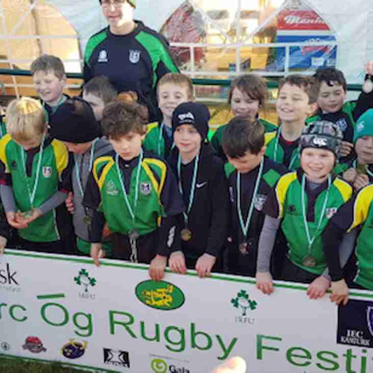 Torc Óg Festival win for the U9's