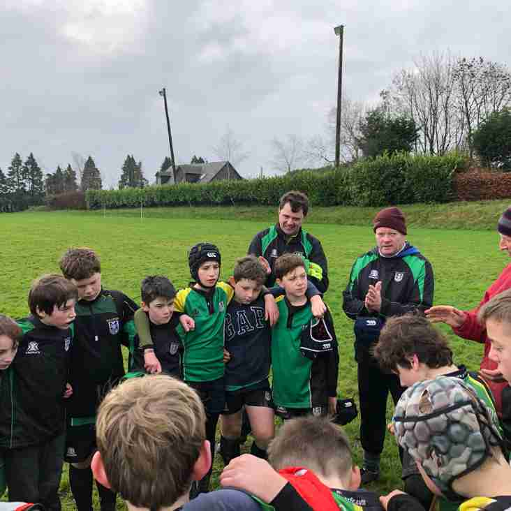 Mallow RFC U12's go to Blitz at Old Christians