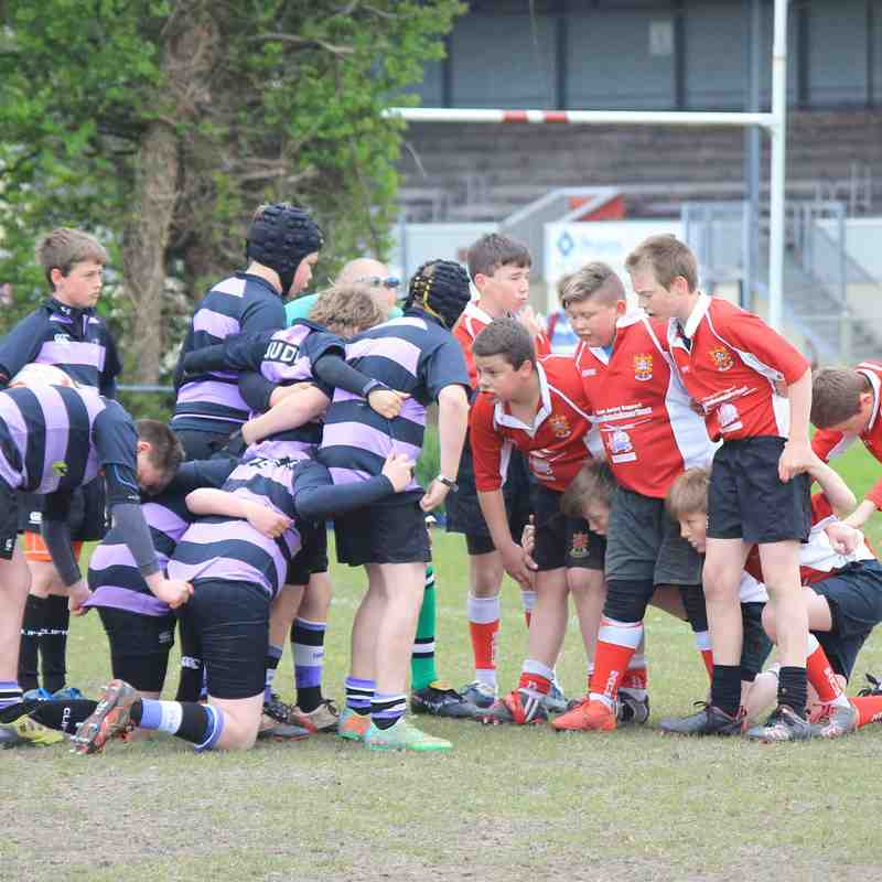 U12 Barnstaple Tour April 15