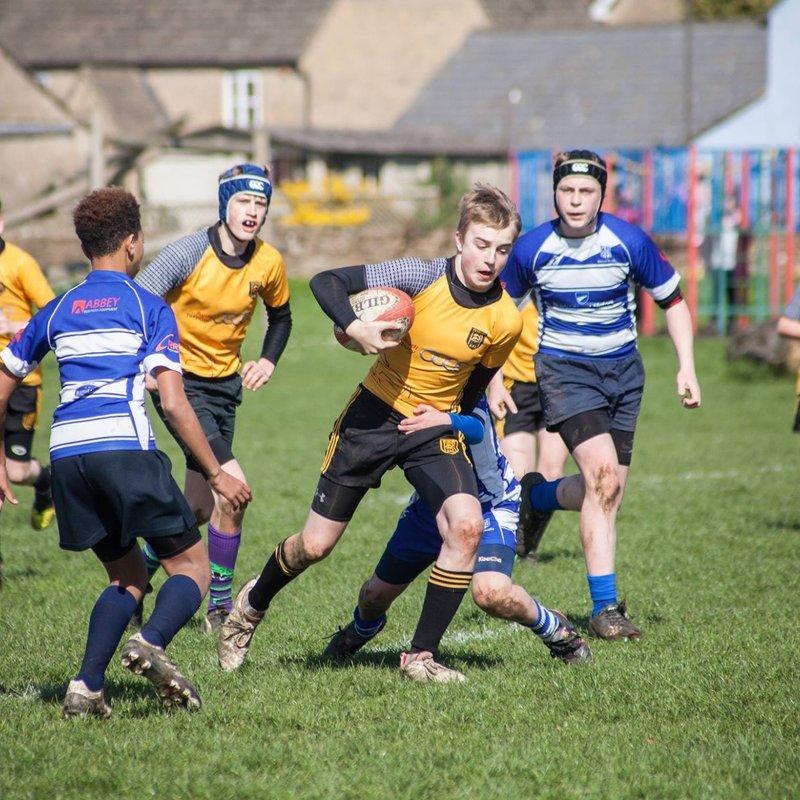 Under 14s beat Stroud 44 - 22