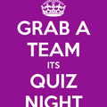 REMINDER: Annual Quiz Night, Places Filling Up Fast