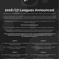 2016/17 Gap Futsal Dates Released!