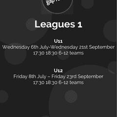 2016/17 Season U11 and U12 Futsal Leagues to Kick off in July 2016!