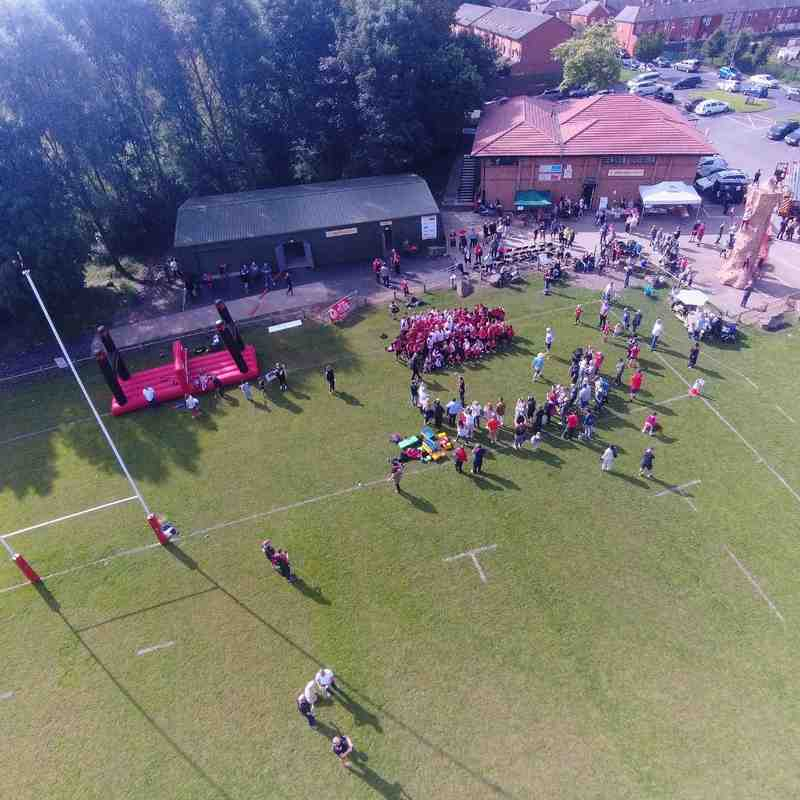 Bolton Rugby Club - overhead