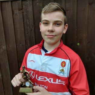 U16s player wins MOM in Lancs final