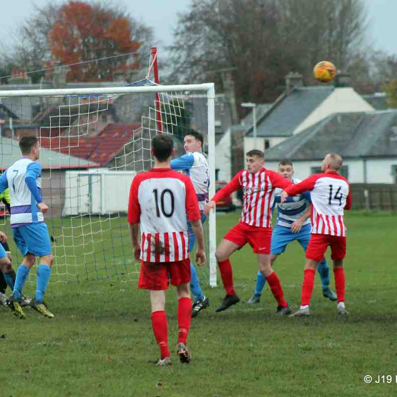 vs. Cowie Thistle (H) - 09/11/19