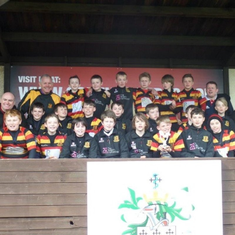 Under 13s lose to Bolton RUFC 30 - 25