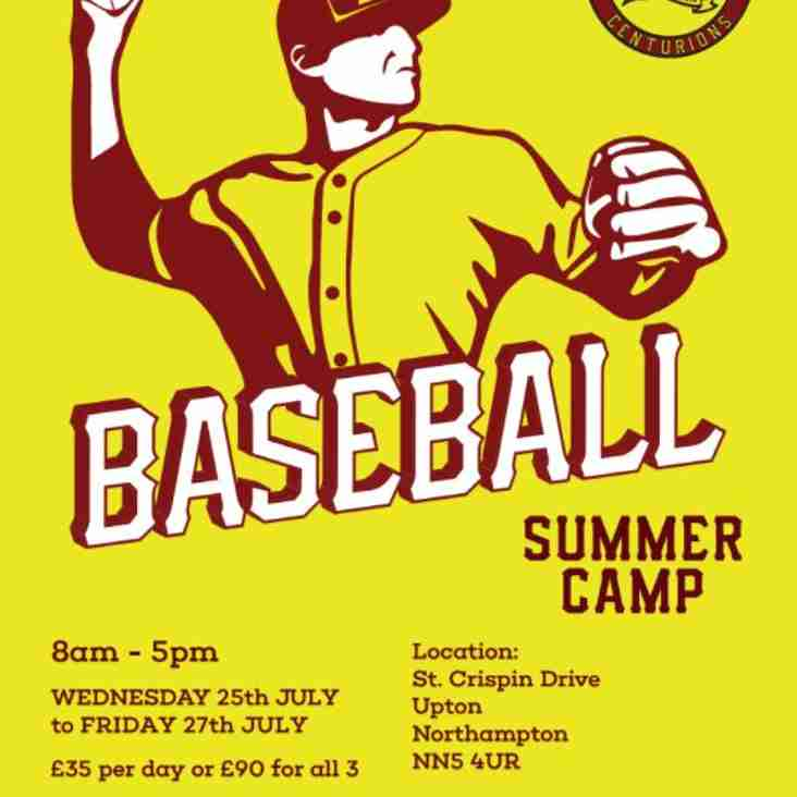 Baseball Camp 201 8