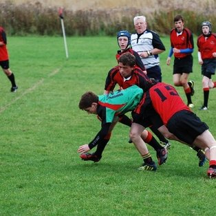 U15's lose close game