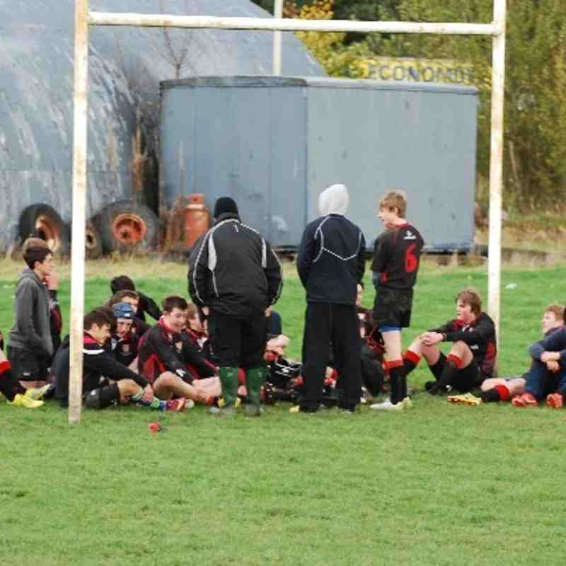 U16/U15 Mackie v Moray 3-11-13