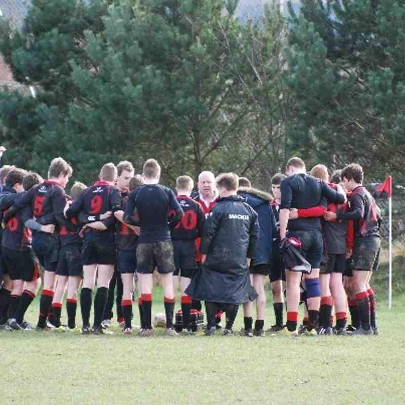 U15 Mackie v Howe Of Fife 9/3/14