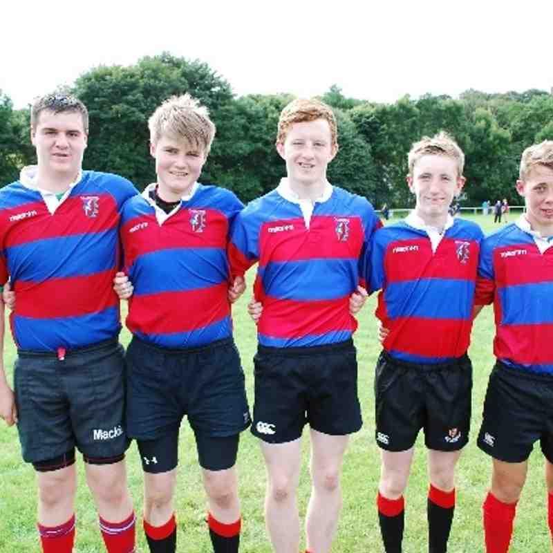 U16s Hurricanes (5Mackie boys) v Highland