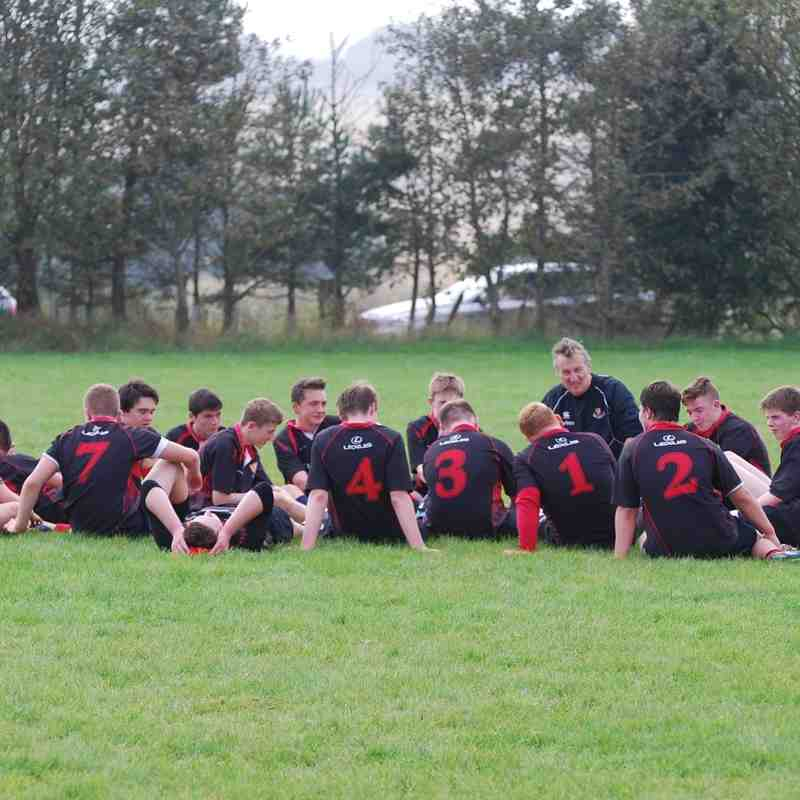 U16s Mackie v Aberdeen Grammer 14-9-14