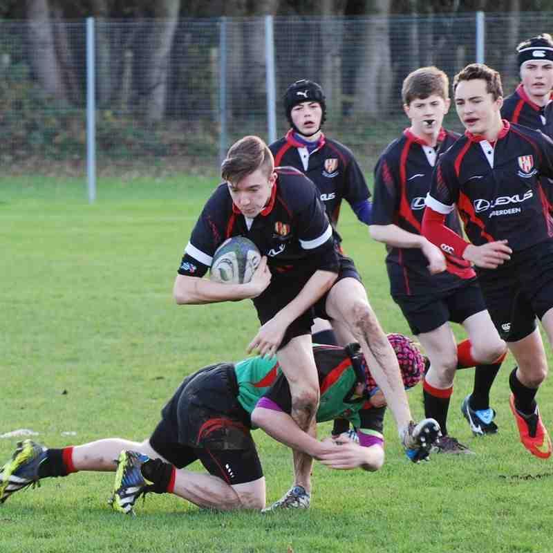 U16s Highland v Mackie 2-11-14