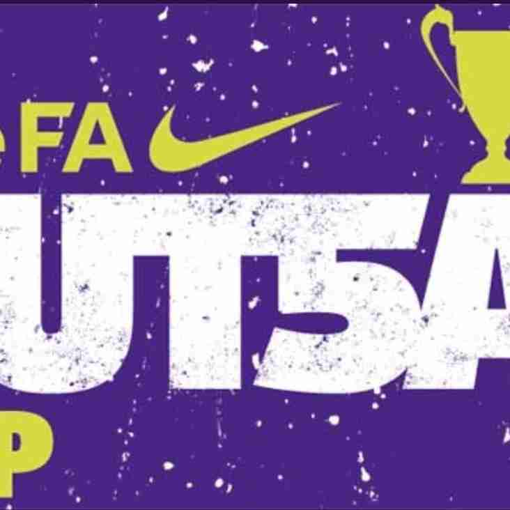 Carterton Town U16's Girls crowned East Midlands FA Youth Fustal Champions 2019