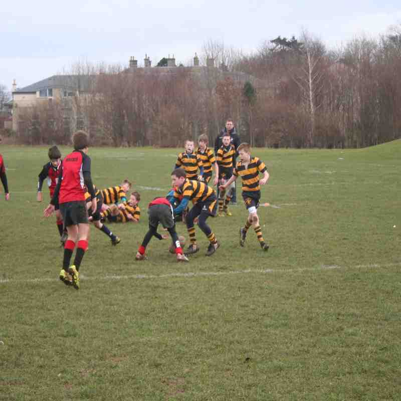 P6/7 Portobello and Scotland v Italy 28/2/15