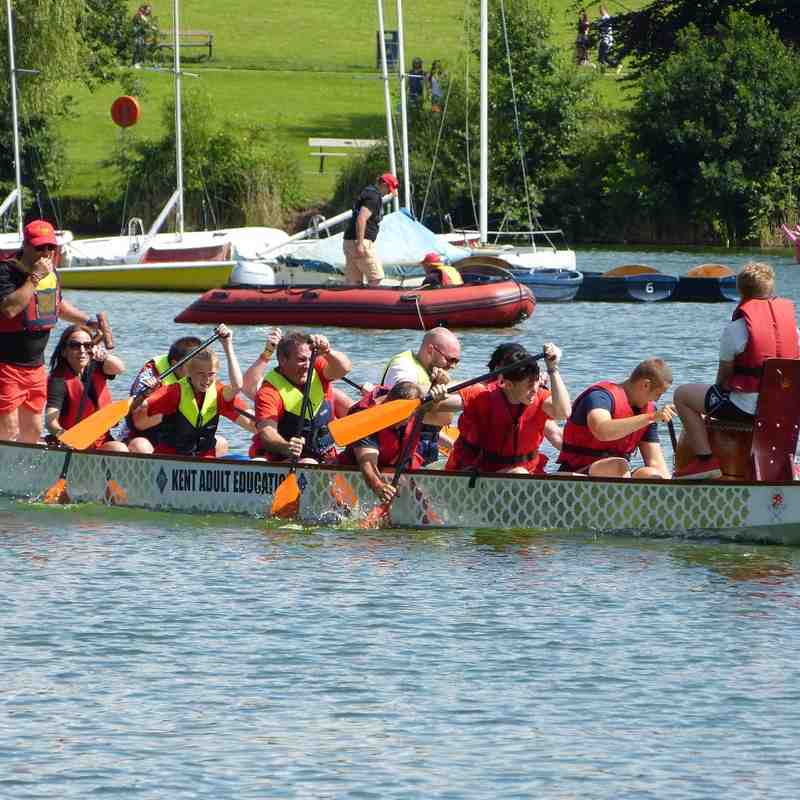 Dragons boat racing 2016