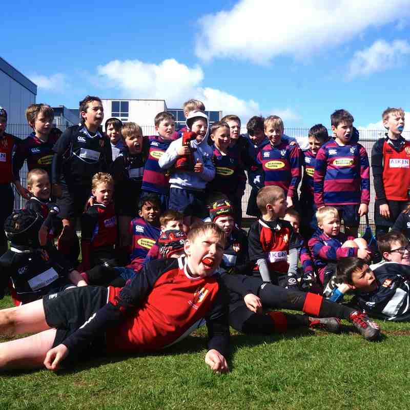 Watsonians / Mackie Micros and Minis Training Day 25 April 2015