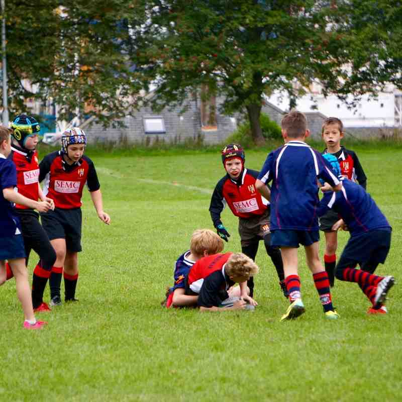 P6 at Dundee Eagles 20 Sept 15