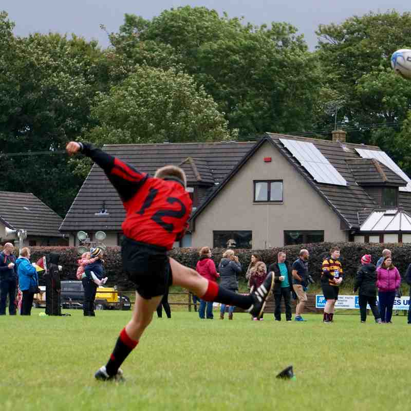 U13 @ Ellon Sept 2017