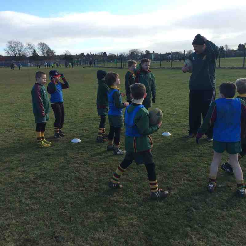 2015.02.01 - U8's Introduction to tackling