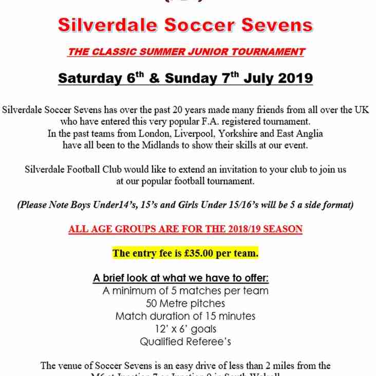 Silverdale  Soccer  7's tournament