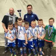 Congrats to the U7's White for winning the Harold Hill tournament on Sunday!