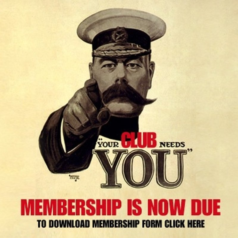 Memberships now due!