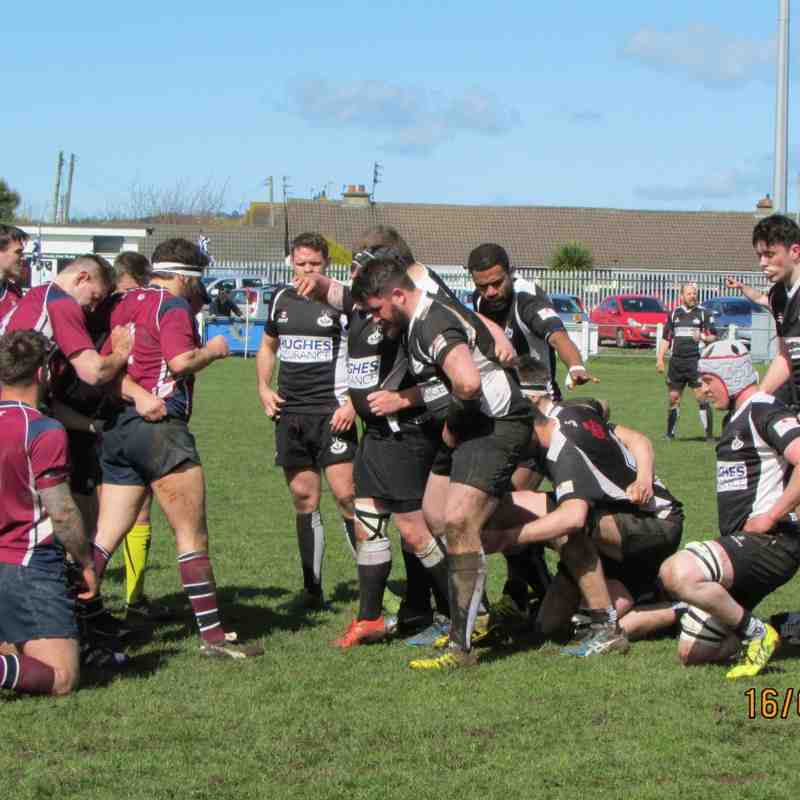 Ards v Enniskillen - 2016 play off match