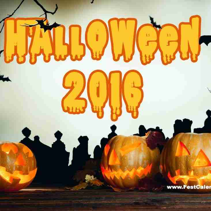 Halloween Party - Sat 29th October