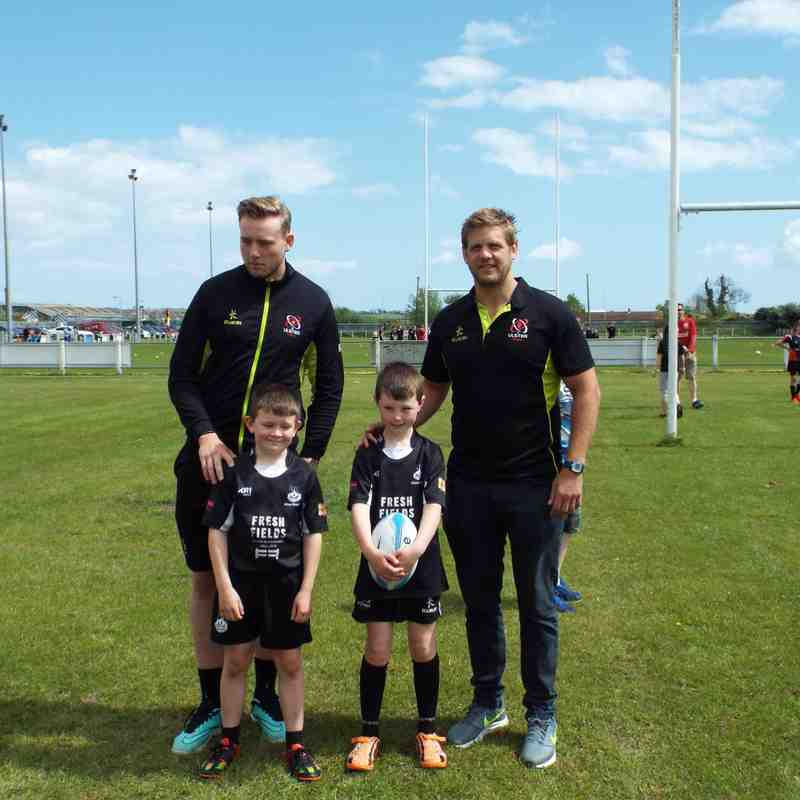 Mini Rugby awards 2016-17