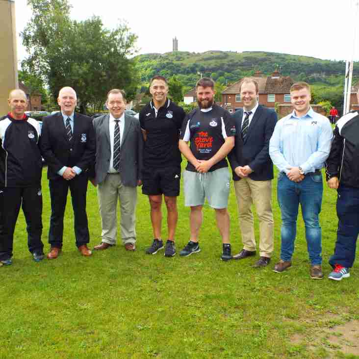 Ards Rugby & Regent House welcome Budge Pountney