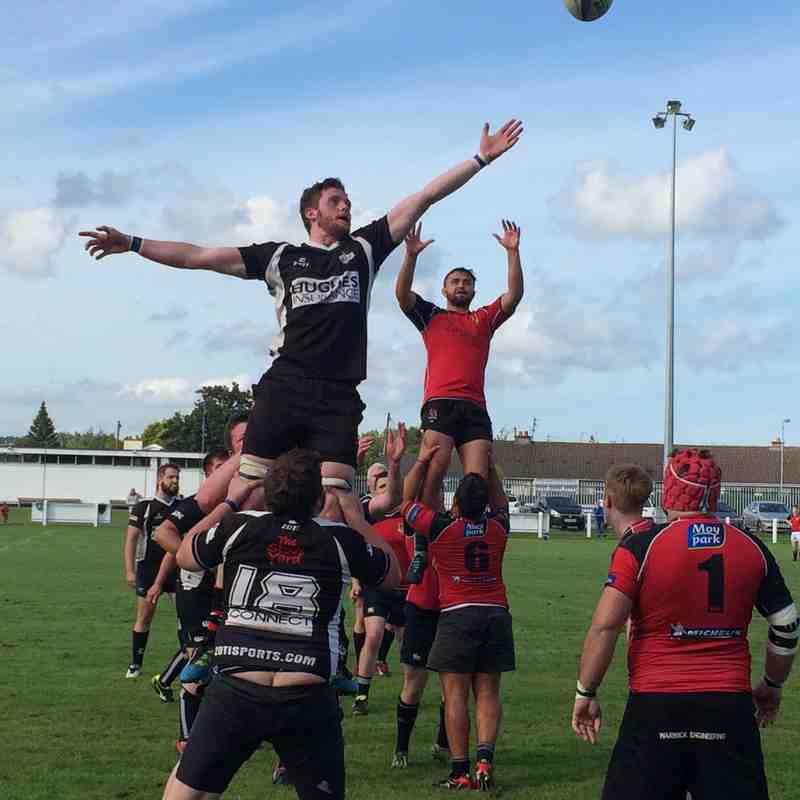 Ards 2nds v Ballymena 03/09/17