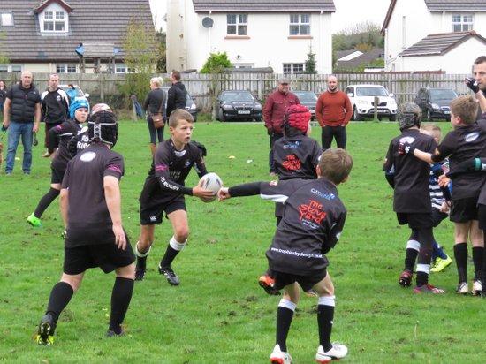 Mini Rugby v CIYMS 18/10/17