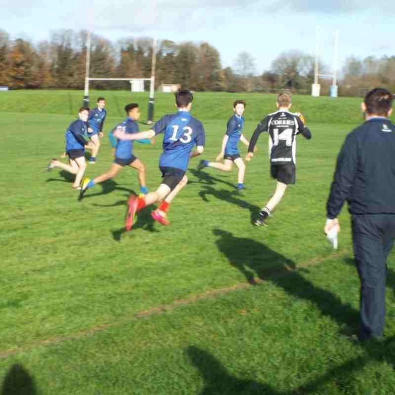 U16s v Portadown 04/11/17