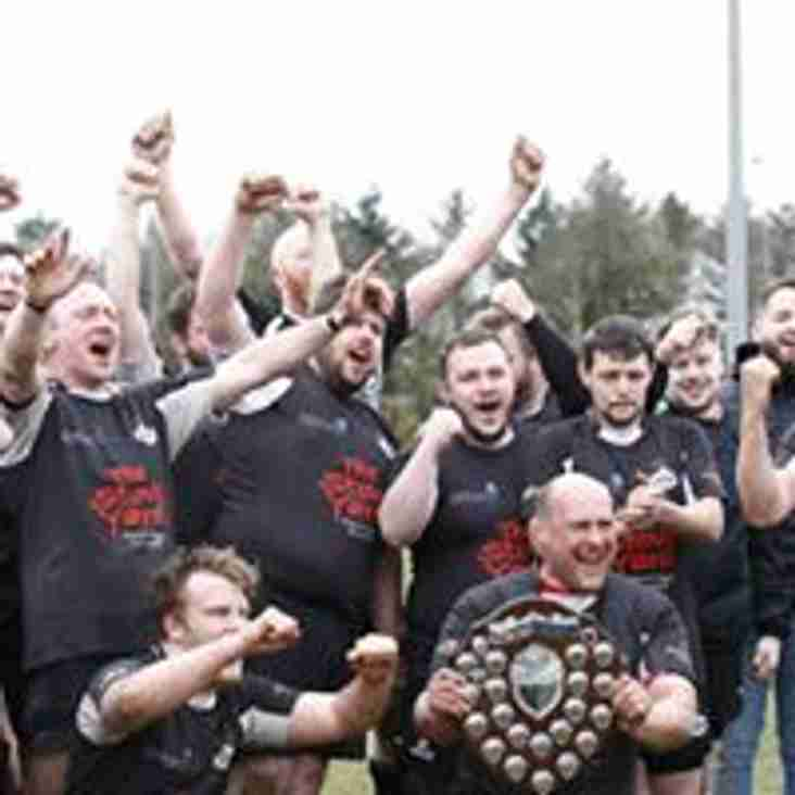 Ards 3rds - Butler Shield Winners!