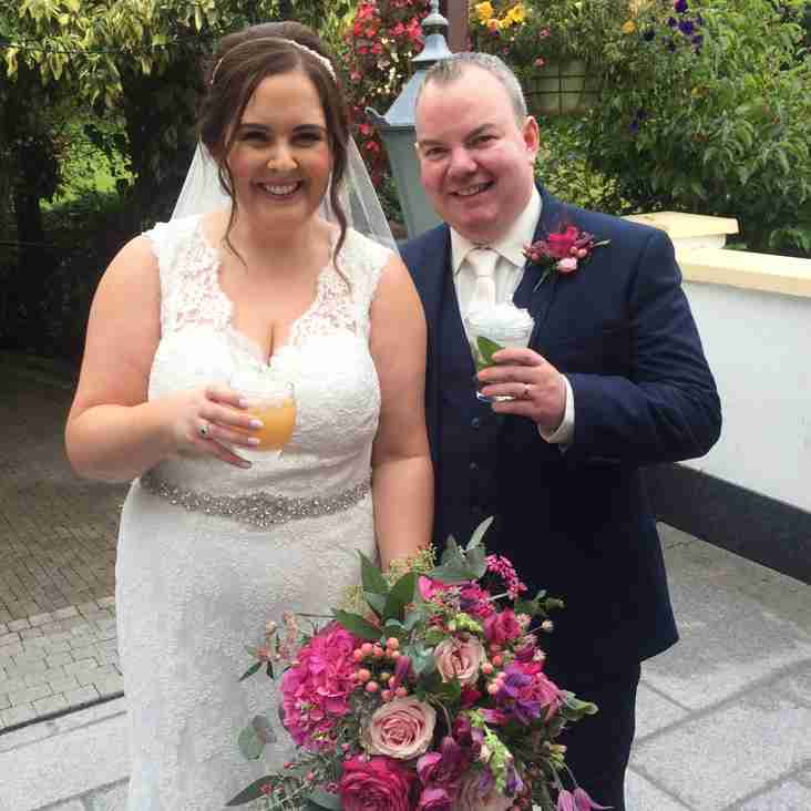 Congratulations Mr & Mrs Paden