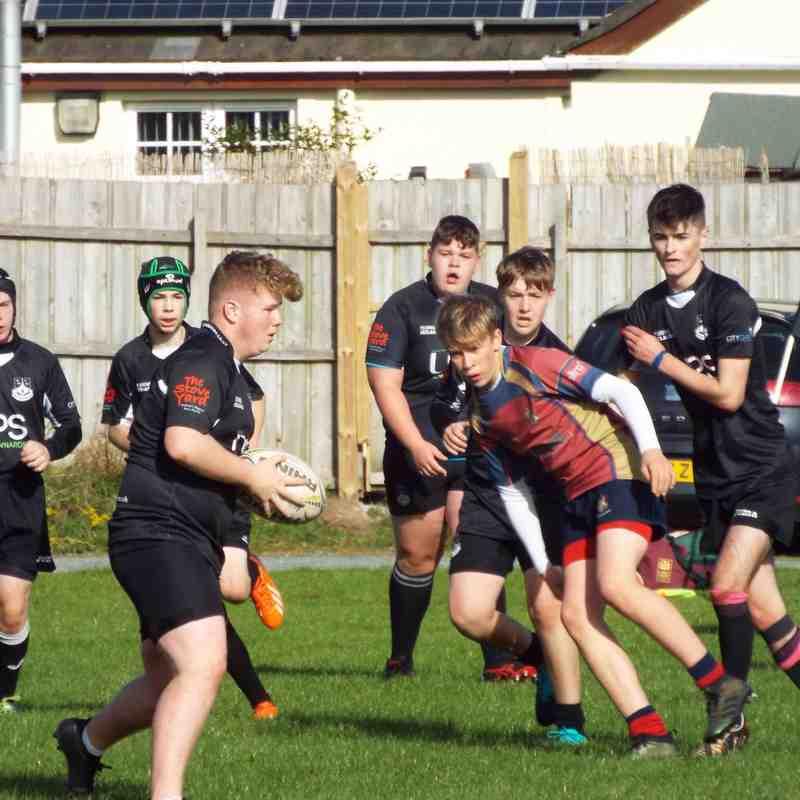 U16s v Ballyclare 29/09/18
