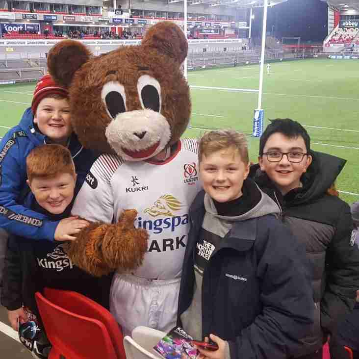 Ards Youth enjoy night out at Kingspan