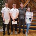 Youth Volunteers recognised.