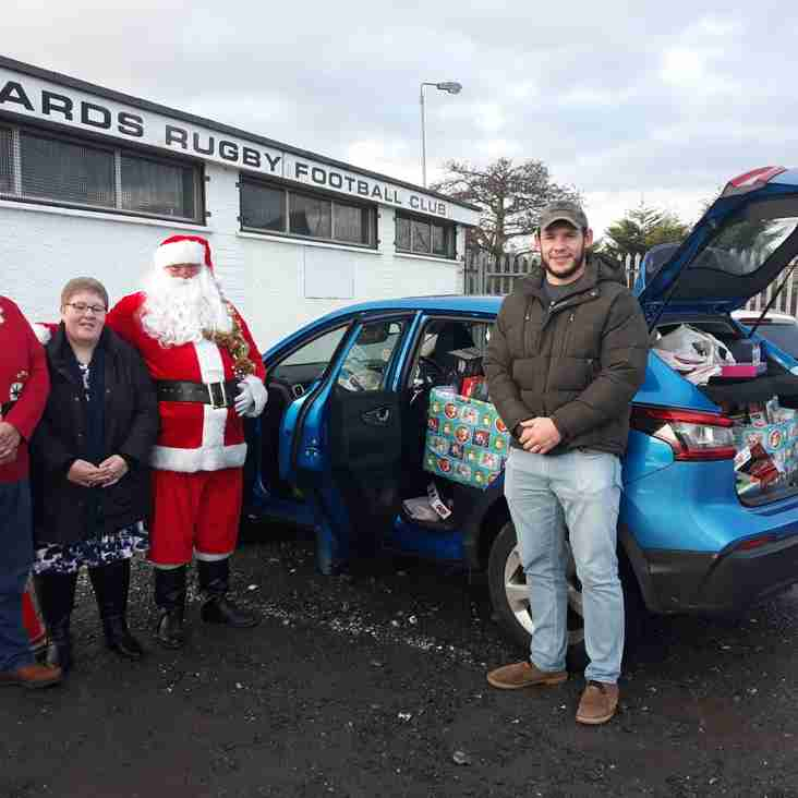 Great response from Ards Rugby !