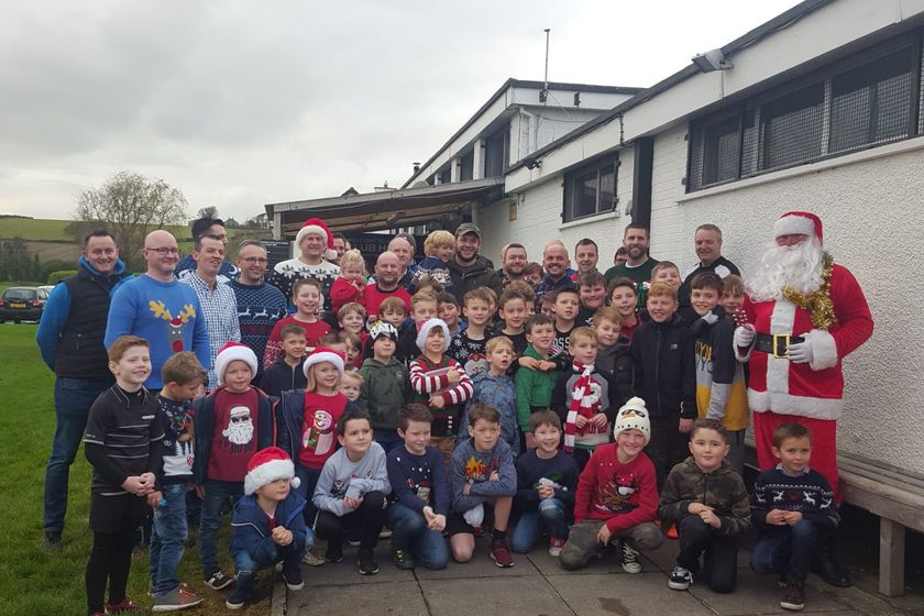Xmas Party weekend at Ards Rugby