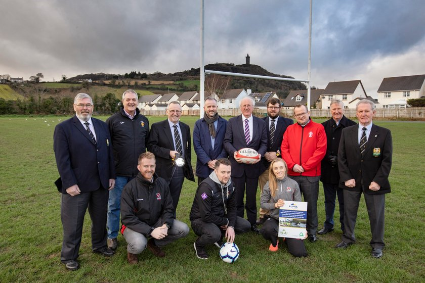 Ards Rugby receives major boost via the Alpha programme