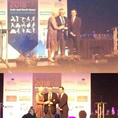 Ian Wallace - volunteer award 2019