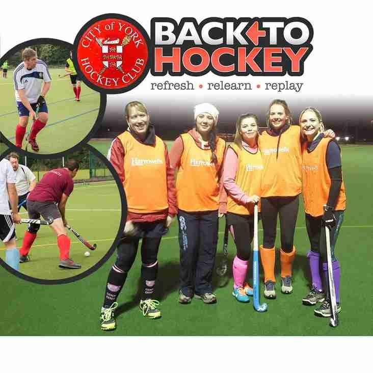 City of York Hockey Club joins Pitchero! Again!
