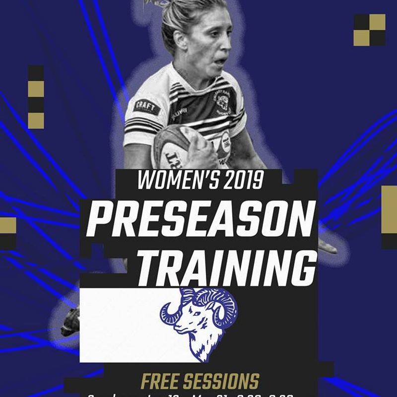 Women's Preseason Training